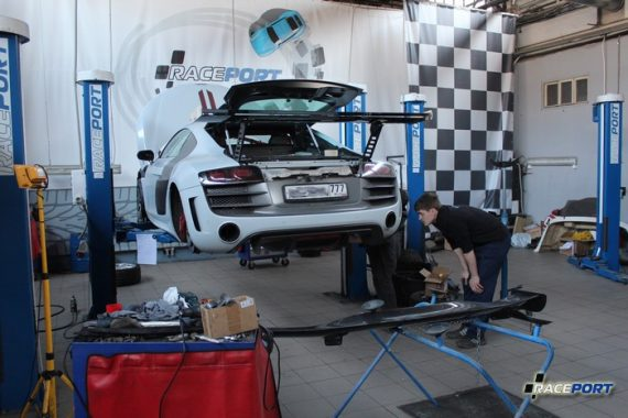<span>Проект: № 00071</span> Audi R8 GT