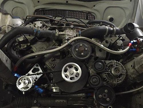 <span>Проект: № 00072</span> BMW E46 330Ci swap V8 S62B50