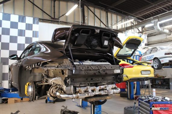 <span>Проект: № 00090</span> Porsche 911 Turbo S 997