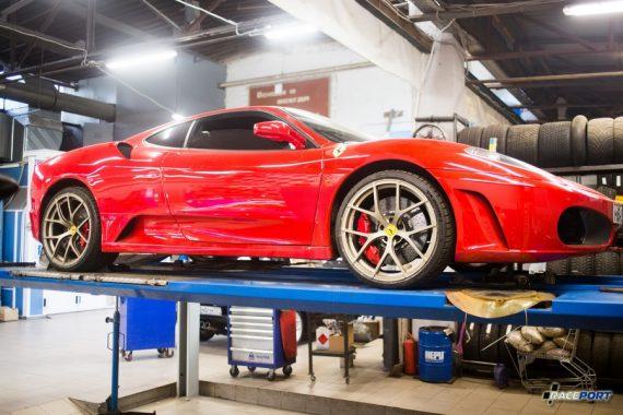 <span>Проект: № 00094</span> Ferrari F430