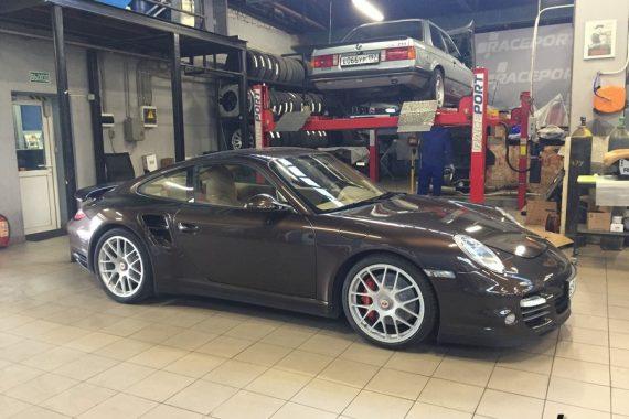 <span>Проект: № 00095</span> Porsche 911 Turbo 997