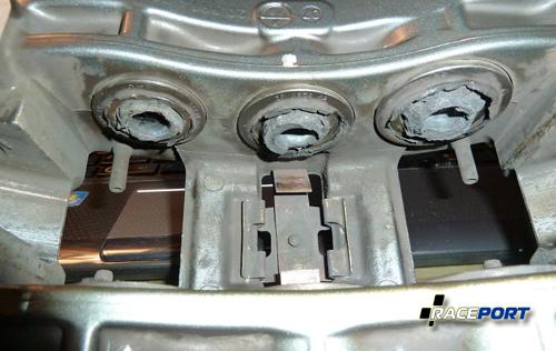 026 Инспекция тормозных суппортов после трековых нагрузок