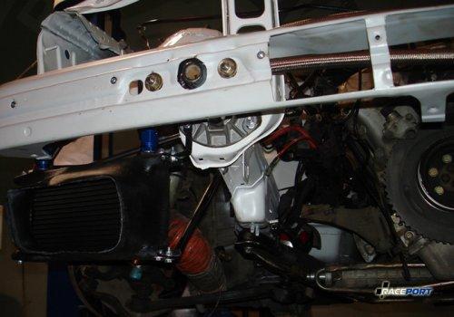 Пример заборников воздуха на гоночной BMW M3 команды Raceport