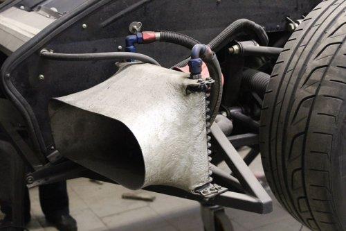 Изготовленная нашими силами деталь для автомобиля Noble M12 GTO-R3