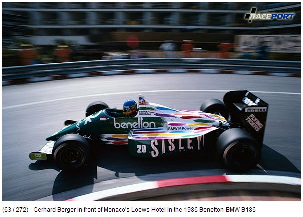 Benetton-BMW B186