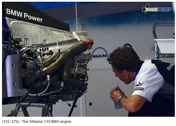 Двигатель BMW Williams V10