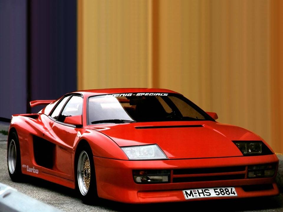 Автомобили с оперением Koenig Special вы можете увидеть в нашей галерее.