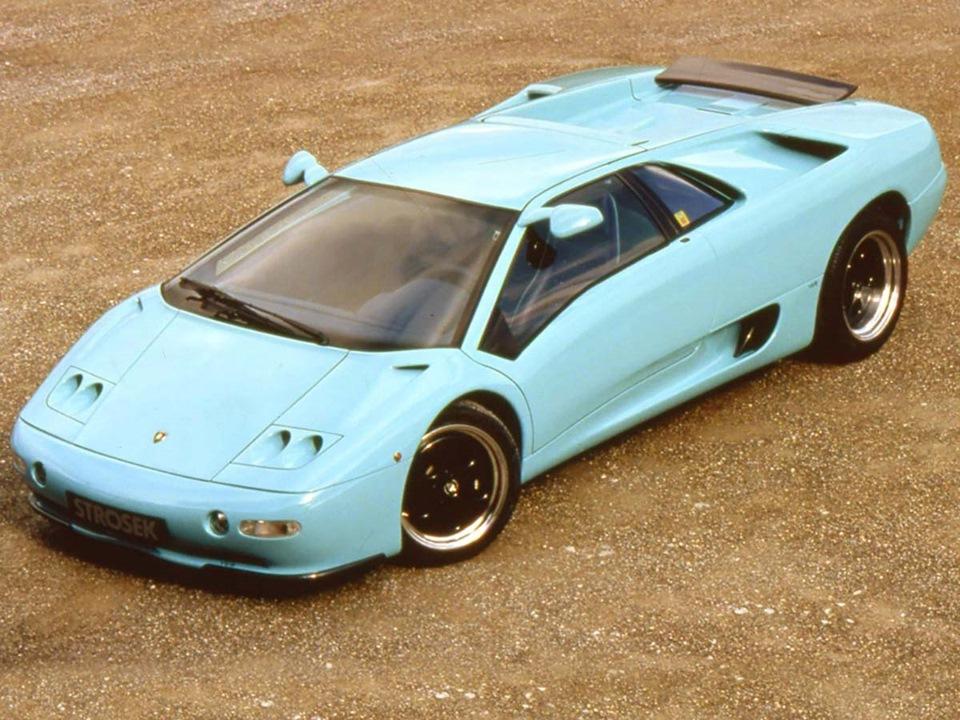 Lamborghini Diablo от Strosek