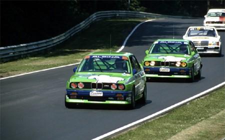 Дубль команды ALPINA в кузовном чемпионате группы А на автомобилях BMW M3. После кузова с маркировкой Е30 компания ALPINA более не пересекалась с продукцией подразделением М. Даже в нынешнее время, существует внегласный договор о том, что компания ALPINA не имеет право наносить на кузов своей продукции эмали используемые в настоящем модельном ряде М серии