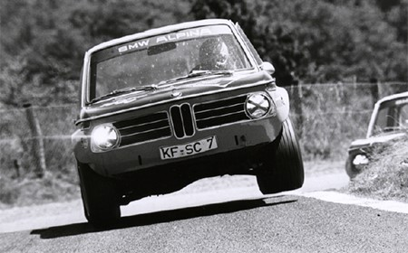 1970 год, Альпина выступает на знаменитой BMW 2002