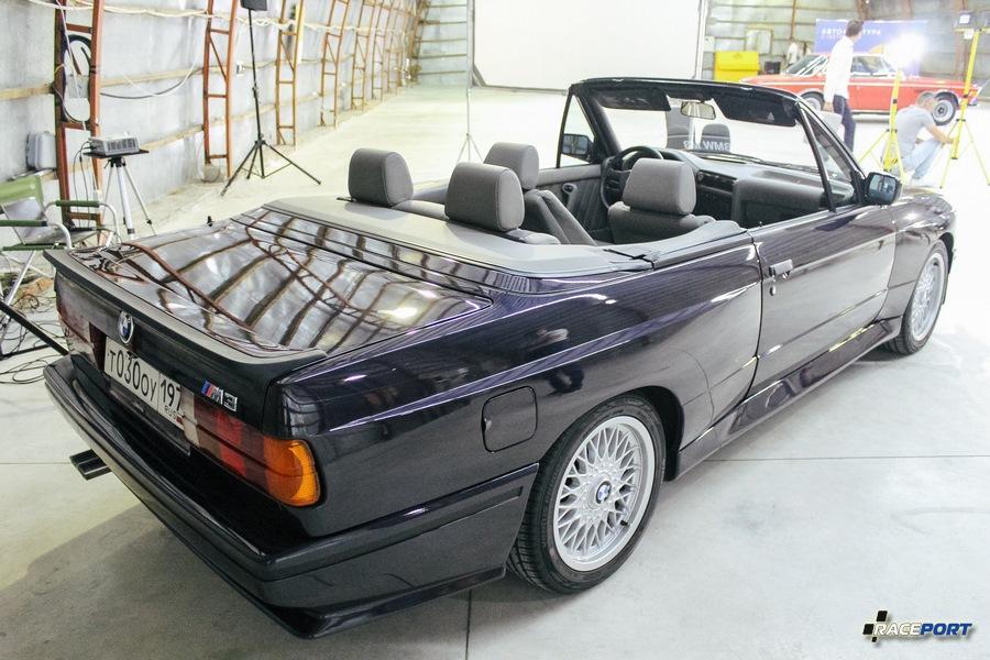 BMW E30 M3 Convertible также клиента Рейспорт.