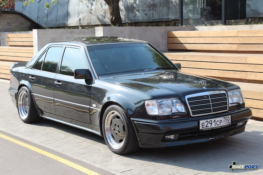 Еще один Mercedes E500