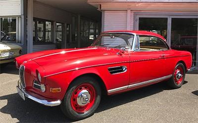 BMW 503 1959 Объем двигателя 3168 куб см, 140 л.с., пробег 82 412 км (328 369 Анг. Фунтов)