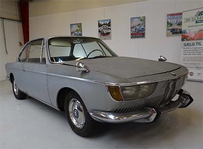 BMW 2000 CS 1967 Объем двигателя 1990 куб см, 120 л.с., пробег 61 270 км (24 000 Евро)