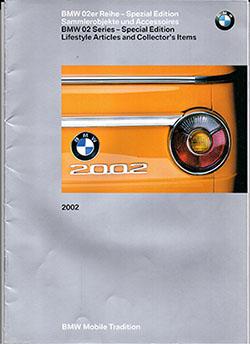 Проспект аксессуаров BMW 2002 (2002 г)
