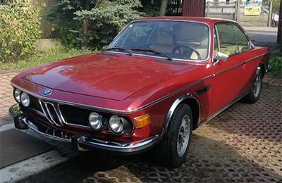 BMW 3,0 CS 1974 Объем двигателя 3000 куб см, 180 л.с., пробег 88 000 км (26 437 Анг. Фунтов)