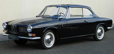 BMW 3200 CS 1964 Объем двигателя 3146 куб см, 160 л.с., пробег 51 294 км (139 230 Евро)