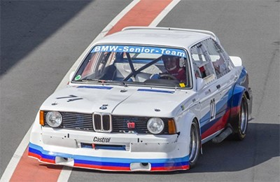 BMW 320i 1981 E21 racing car Объем двигателя 1995 куб см, 190 л.с. (49 500 Евро)