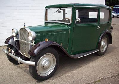 BMW 3/20 AM 2 1933 Объем двигателя 782 куб см, 20 л.с. (24 750 Евро)