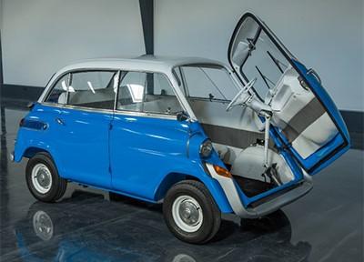 BMW 600 1959 Объем двигателя 582 куб см, 20 л.с. (35 000 Евро)
