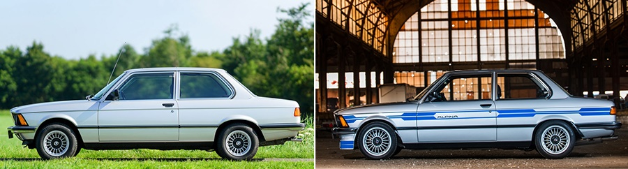 BMW 323i и Alpina B6 2.8