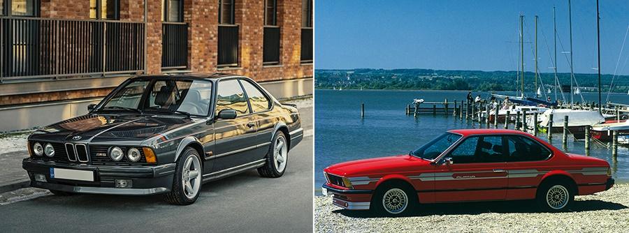 BMW 635CSi (Не М) и Alpina B7
