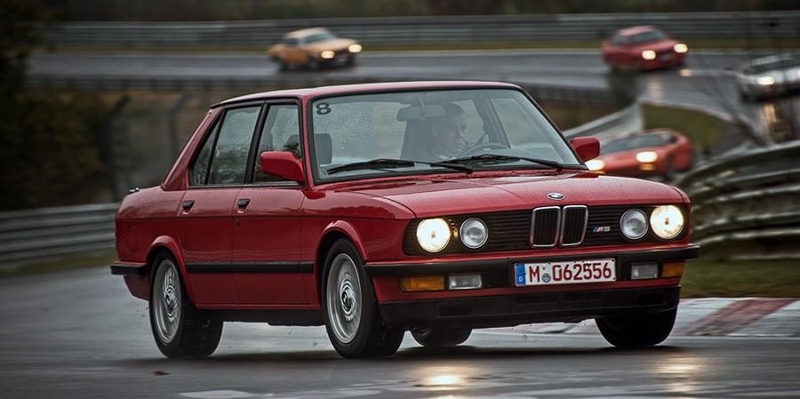 BMW M5 на Нюрбургринге