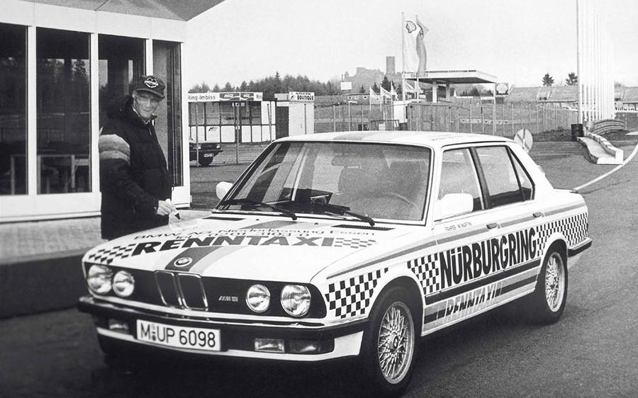 Традиционное Ringtaxi на базе кузова E28 M5
