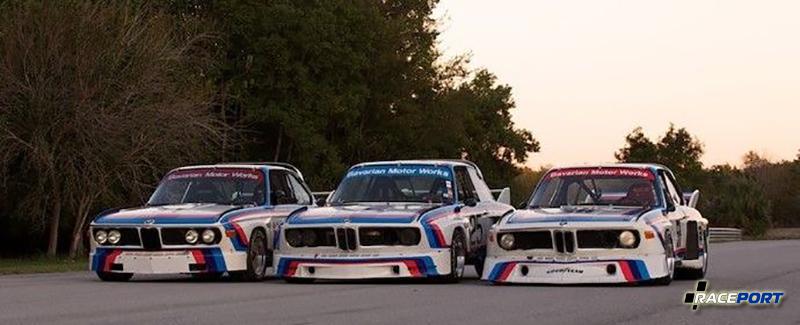 Три вариации аэродинамического оперения для BMW 3.0 CSL
