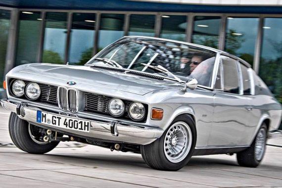 BMW 2002 GT4 Frua выпущено всего два экземпляра