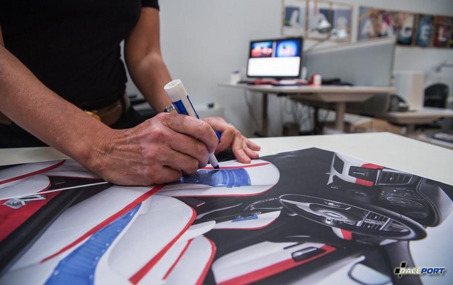 Разработка дизайна интерьера M3 в студии BMW Group Designworks