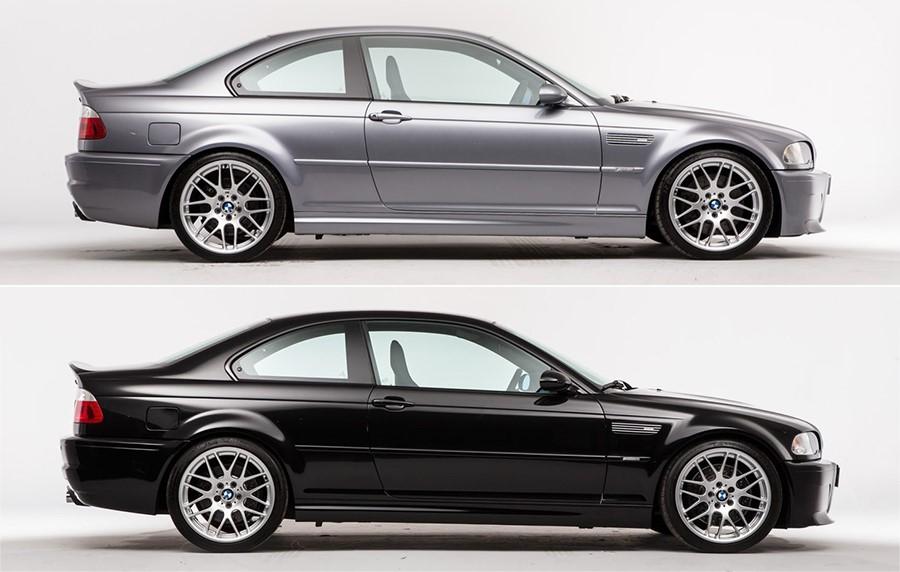 ЦСЛ покидал заводской конвейер только в двух цветах Silver Grey Metallic (A08) и Black Sapphire Metallic (475)