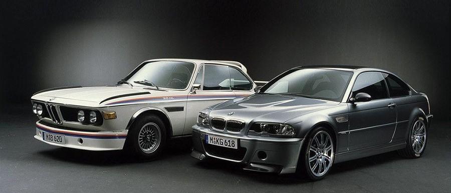 BMW 3.0 CSL (E9) и BMW M3 CSL (E46) Разница между ними 30 лет