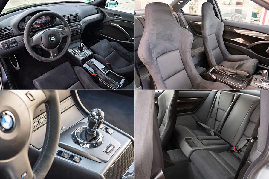 Элементы интерьера BMW M3 CSL