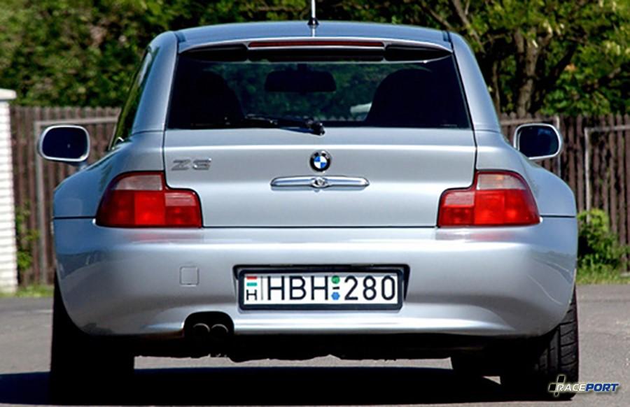 BMW Z3 Coupe вид сзади
