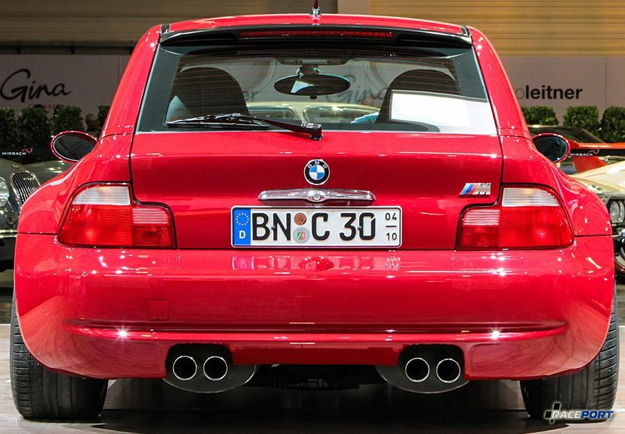 BMW Z3M Coupe вид сзади