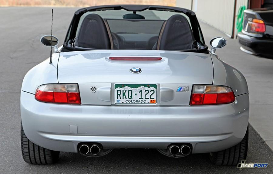 BMW Z3M Roadster вид сзади