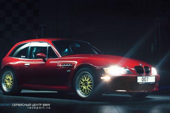 Фотосессия BMW Z3 Coupe из коллекции Рейспорт