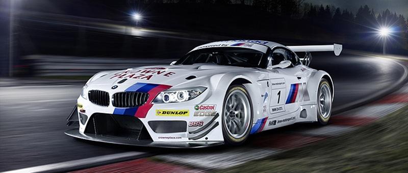 BMW Z4 GT3 на Nurburgring