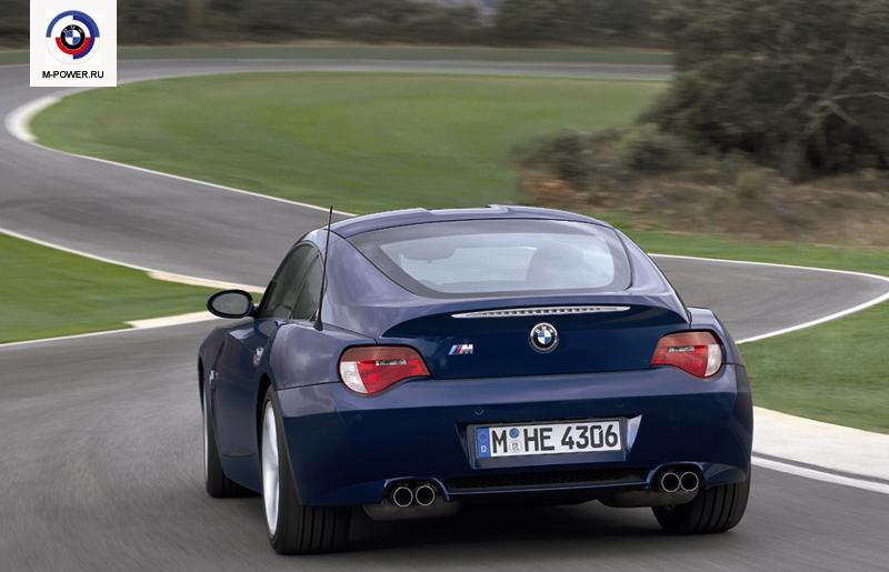 BMW Z4M Coupe и Z3M Coupe