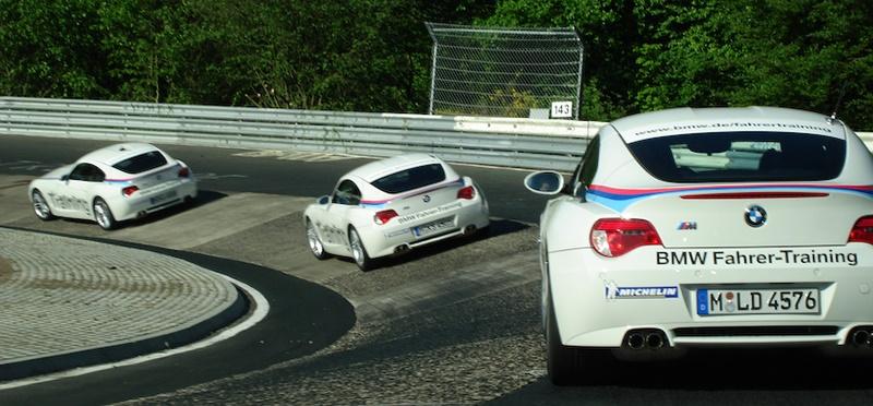 Курсы повышения квалификации водителей по заводской программе BMW на Z4M (Нюрбургринг)