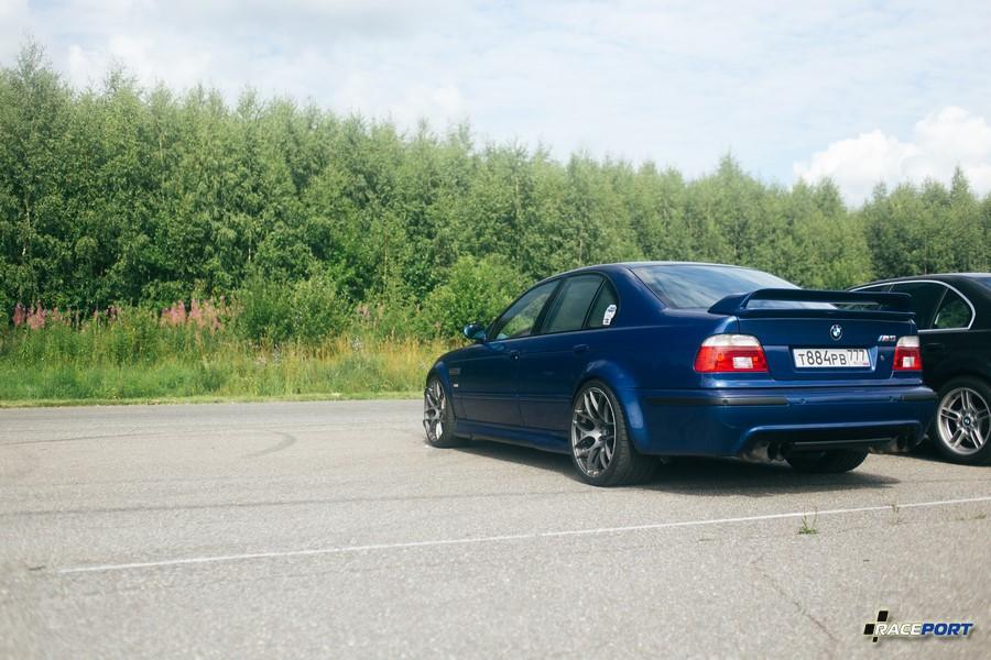 BMW M5 Hamann с wide body, таких автомобилей когда-то у нас было два среди клиентов
