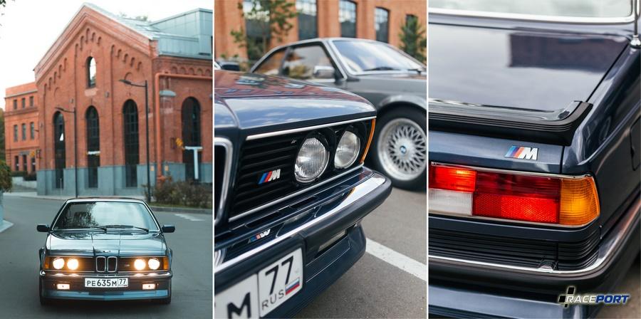 BMW M635CSi E24 с минимальным пробегом