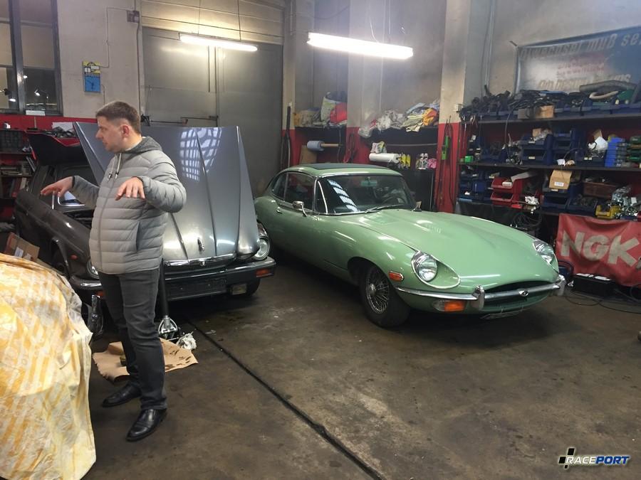 Jaguar E Type в последней генерации