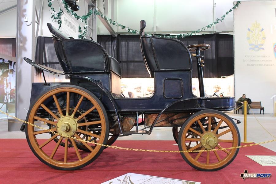 Stoewer Der grosse Motorwagen, Германия 1899 г.