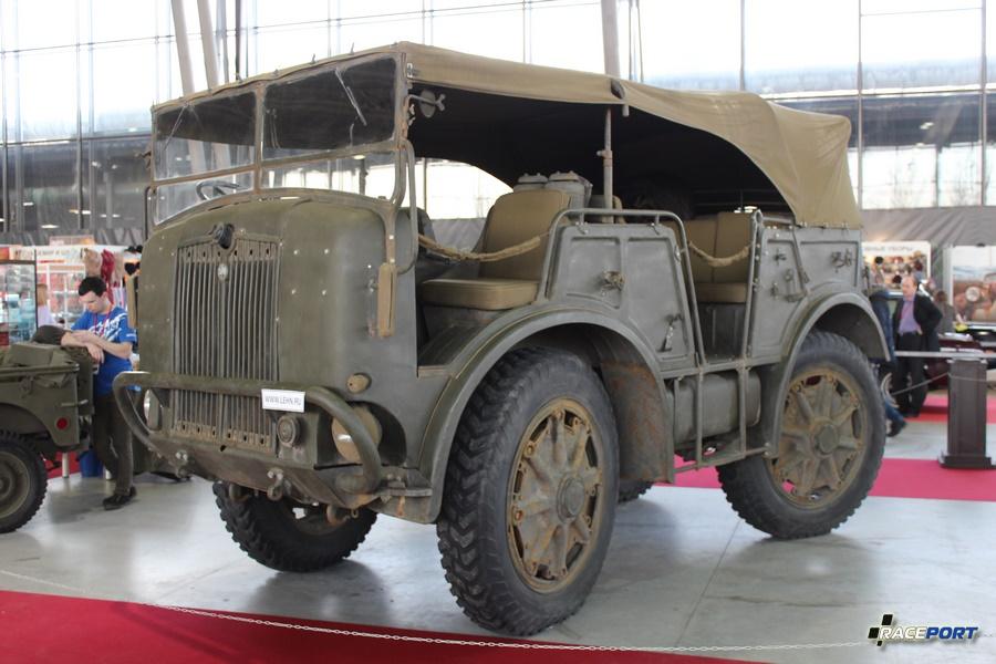 Артиллерийский тягач Fiat SPA TM40, Италия 1938 г. Мощность 105 л.с., Макс. скорость 43 км/ч