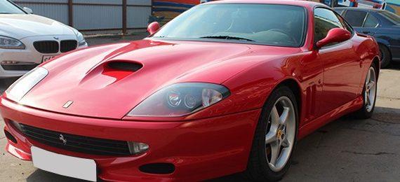 <span>Проект: № 00048</span> Ferrari 550 Maranello