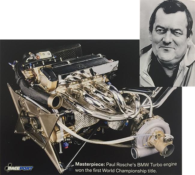 Пол Роше и его творение турбированный формульный двигатель.