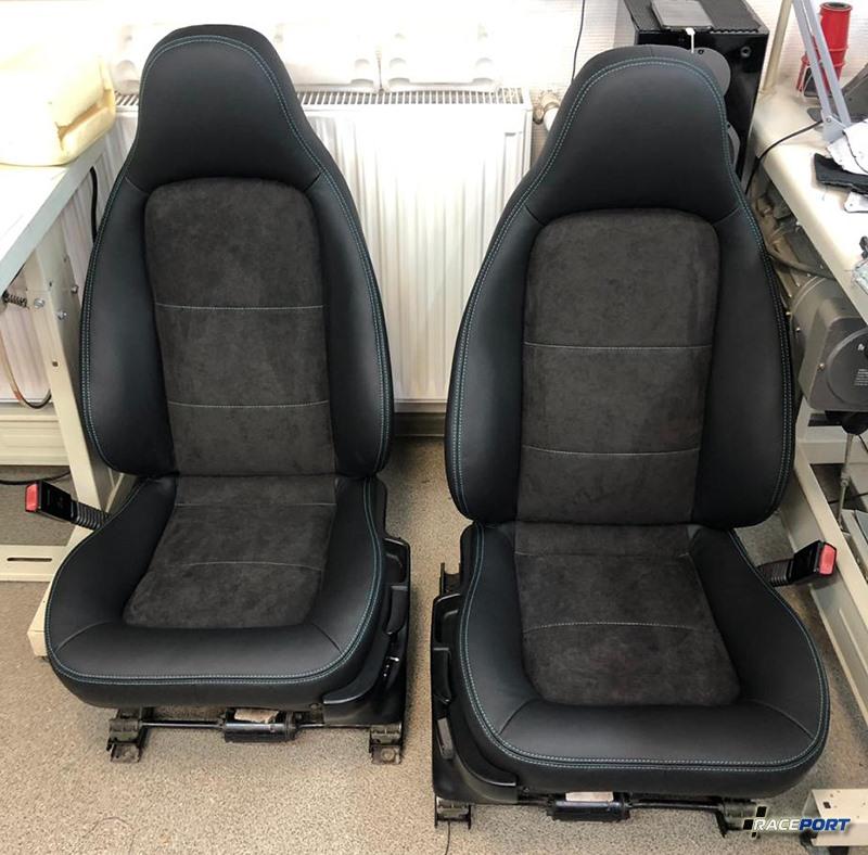 Перешив сидения BMW