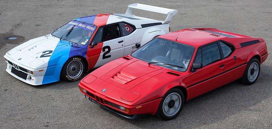 Баварский суперкар BMW M1 отмечает в этом году 40 лет